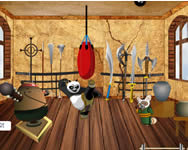 Kung Fu Panda training room decor macis j�t�kok ingyen
