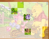 Sort My Tiles Pooh and Piglet j�t�k